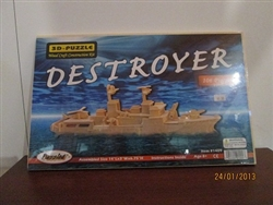 Puzzle: 3-D (Destroyer)