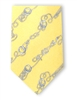 Tie: Nautical Knots (Yellow)