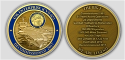 Challenge Coin: Enterprise Decommission