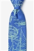 Tie: Sail Plans (Blue)