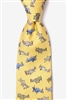 Tie: WWII Fighter Planes (Yellow)