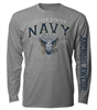 Long Sleeve T-Shirt: Navy Vintage