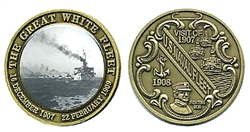 Challenge Coin: The Great White Fleet
