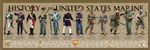 Poster: History of the United States Marine Print