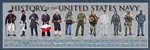 Poster: History of the United States Navy Print