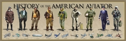 Poster: History of the American Aviator Print