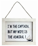 My Wife is the Admiral