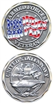 Challenge Coin: Proudly Served - Navy