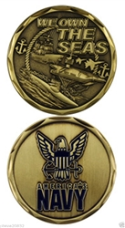 Challenge Coin: We Own the Seas