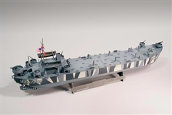Model: Lindberg D-Day Invasion LST
