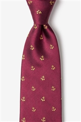 Tie: What's The HoldUp (Burgundy)