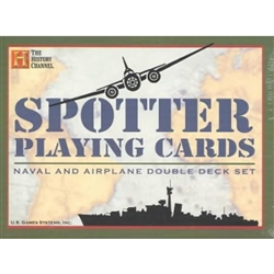 Playing Cards: Spotter, Naval and Airplane Double Deck Set