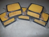 Husqvarna K760 air filter set of 5 Aftermarket