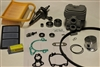 Stihl TS420 Overhaul / Rebuild Kit w/ cylinder, crankshaft, filters and more
