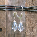 Sparkly Lagoon Crystal Earrings