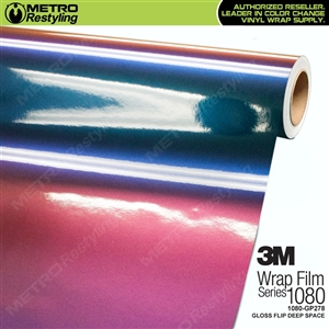 3M 1080 GP278 Gloss Flip Deep Space vinyl vehicle wrap film