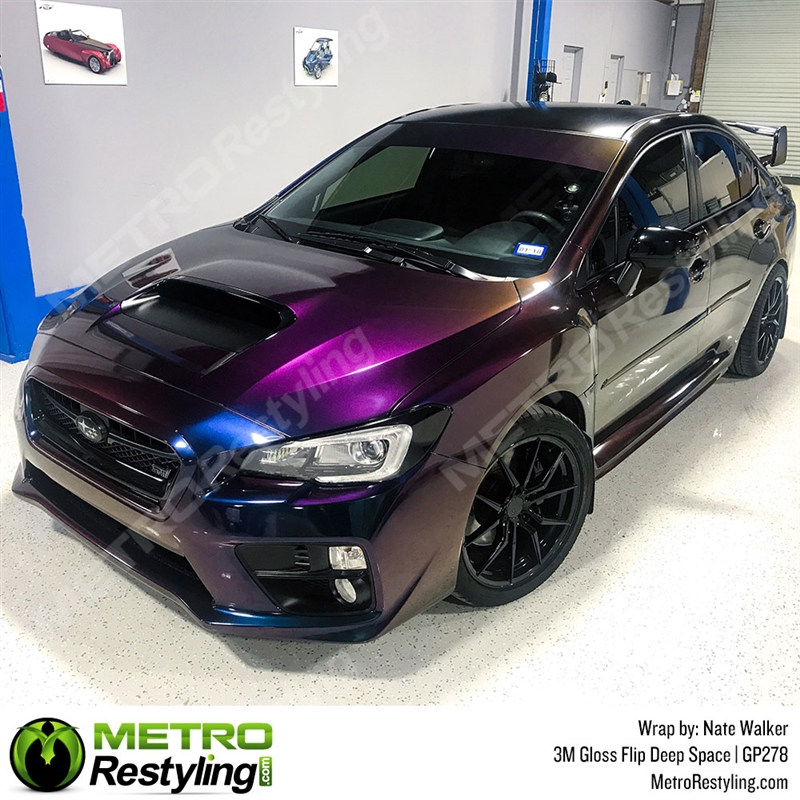 3M 1080 Gloss Flip Deep Space Vinyl Wrap BLOWOUT STOCK | GP278