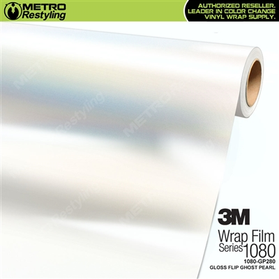 3M 1080 GP280 Gloss Flip Ghost Pearl vinyl vehicle wrap film