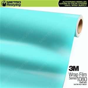3M 1080 S57 Satin Key West vinyl vehicle wrapping film