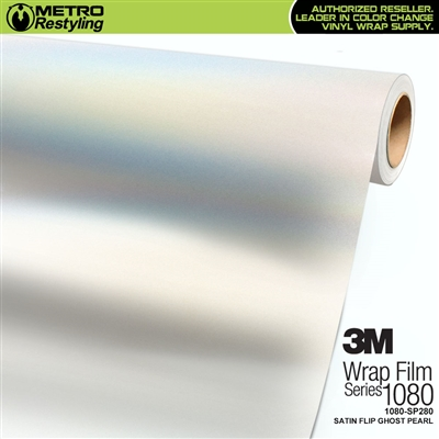 3M 1080 SP280 Satin Flip Ghost Pearl vinyl vehicle wrap film