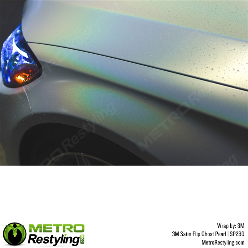 3M 1080 Satin Flip Ghost Pearl Vinyl Wrap | SP280