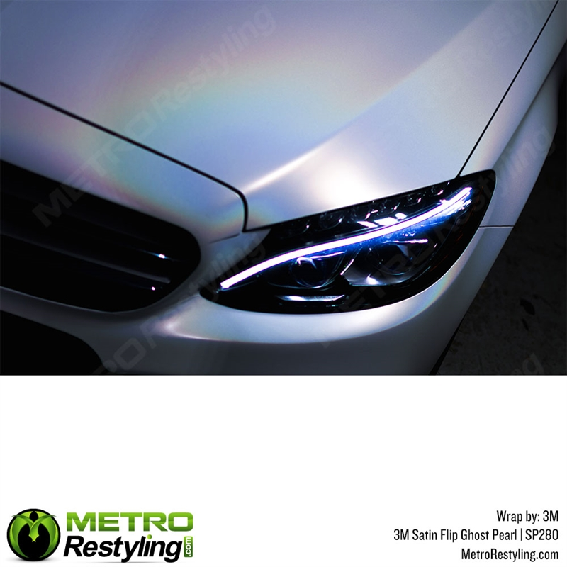 3m 1080 Sp280 Satin Flip Ghost Pearl Car Wrap Vinyl Is An Iridescent