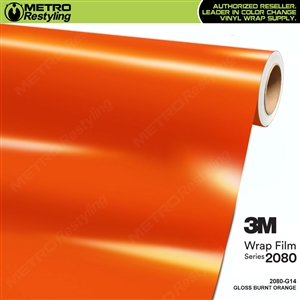 3m burnt orange wrap