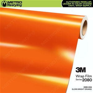 3m gloss bright orange