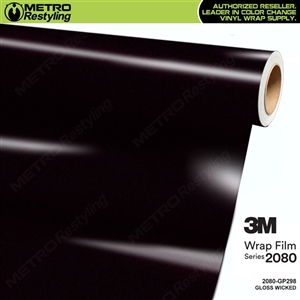 3M 2080 GP298 Gloss Wicked vinyl car wrapping film