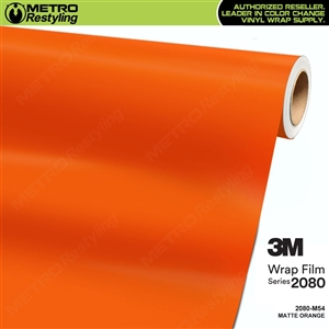 3M 2080 M54 Matte Orange vinyl car wrapping film
