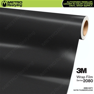 3M 2080 Scotchprint Satin Thundercloud Vinyl Wrap