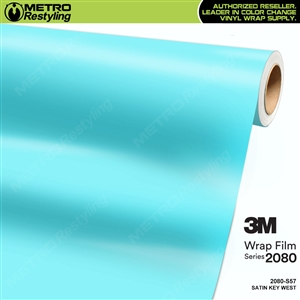 3M 2080 S57 Satin Key West vinyl car wrapping film