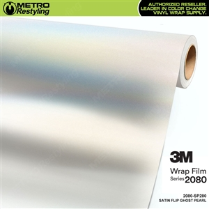 3M 2080 Satin Flip Ghost Pearl vinyl car wrap