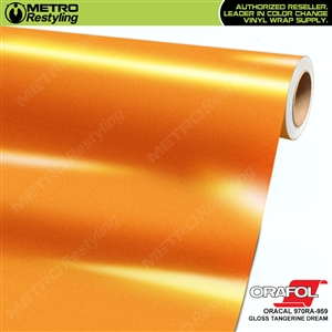 ORACAL 970RA-959 Gloss Tangerine Dream Premium car vinyl wrap