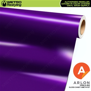 "Arlon Ultimate PremiumPlusâ""¢ Vinyl Wrap Film Gloss Candy Amethyst 852"