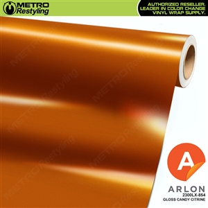 "Arlon Ultimate PremiumPlusâ""¢ Vinyl Wrap Film Gloss Candy Citrine 854"