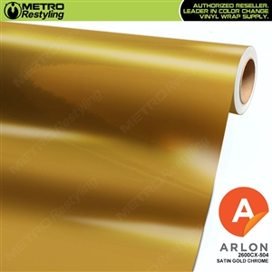 Arlon Ultimate PremiumPlus Satin Gold Chrome Vinyl Wrap Film