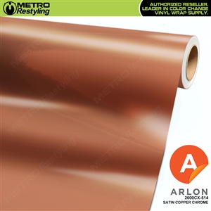 Arlon Ultimate PremiumPlus Satin Copper Chrome Vinyl Wrap Film