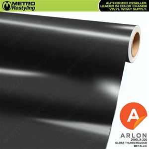 "Arlon Ultimate PremiumPlusâ""¢ Vinyl Wrap Film Gloss Thundercloud Metallic 220"