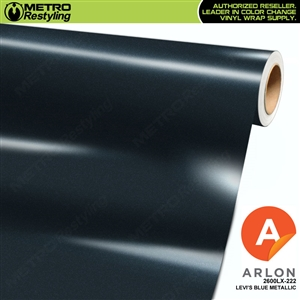 "Arlon Ultimate PremiumPlusâ""¢ Vinyl Wrap Film Gloss Levi's Blue Metallic 222"