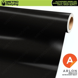 "Arlon Ultimate PremiumPlusâ""¢ Vinyl Wrap Film Satin Starry Night Black 515"
