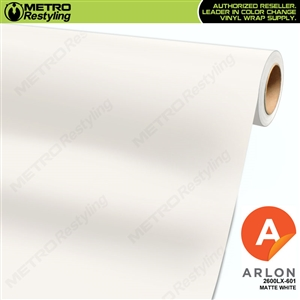 "Arlon Ultimate PremiumPlusâ""¢ Vinyl Wrap Film Matte White 601"