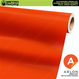 "Arlon Ultimate PremiumPlusâ""¢ Vinyl Wrap Film Matte Fierce Orange 627"