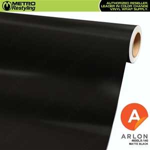 Arlon PerformancePlus Vinyl Wrap Film Matte Black 140
