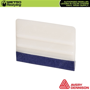 Avery Pro Rigid Felt Edge Squeegee for dry or wet application