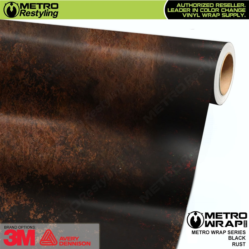 Metro Black Rust Vinyl Wrap Film Shop Online Or Call 888