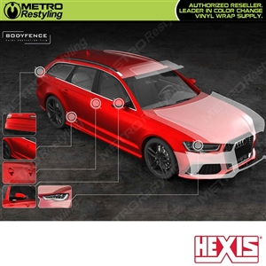 hexis bodyfence matte protection film
