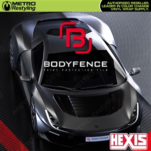 BodyFenceX paint protection film for cars