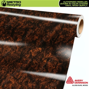 Flexible Burl Woodgrain Vinyl Wrap Film