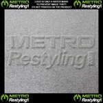 Metro Coarse Brushed Aluminum Vinyl